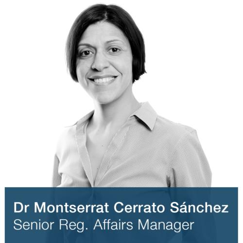 Dr Montserrat Cerrato Sánchez