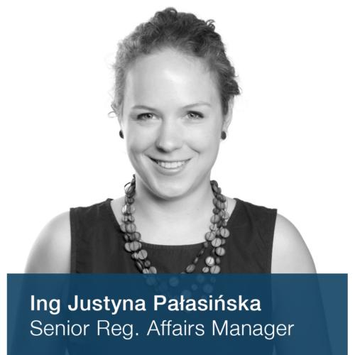 Ing. Justyna Pałasińska