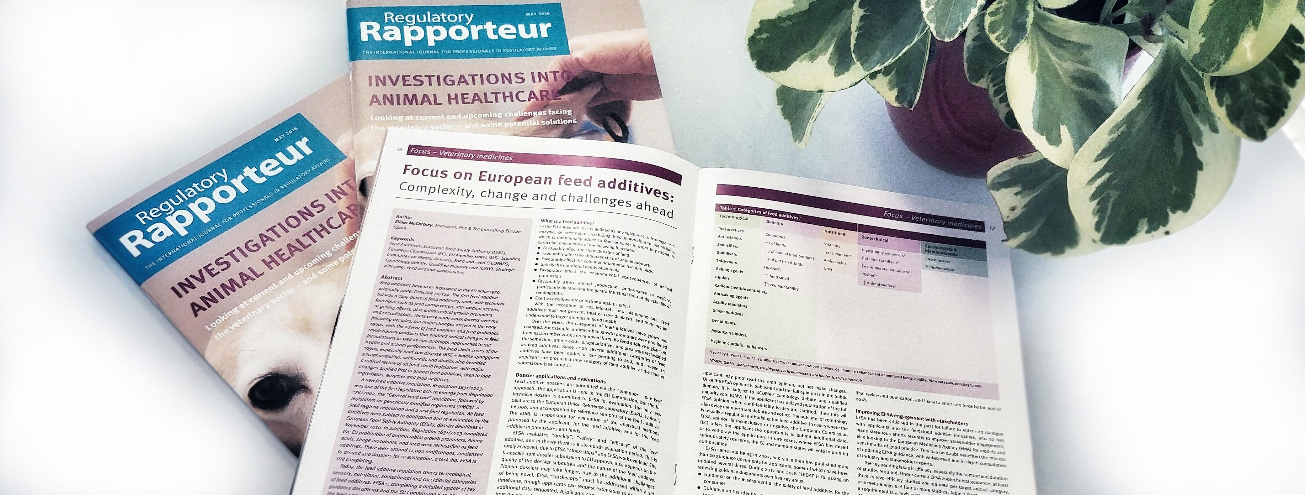 Focus on European feed additives