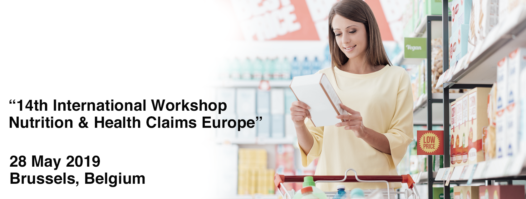 We are attending the 14th International Workshop on Nutrition & Health Claims Europe