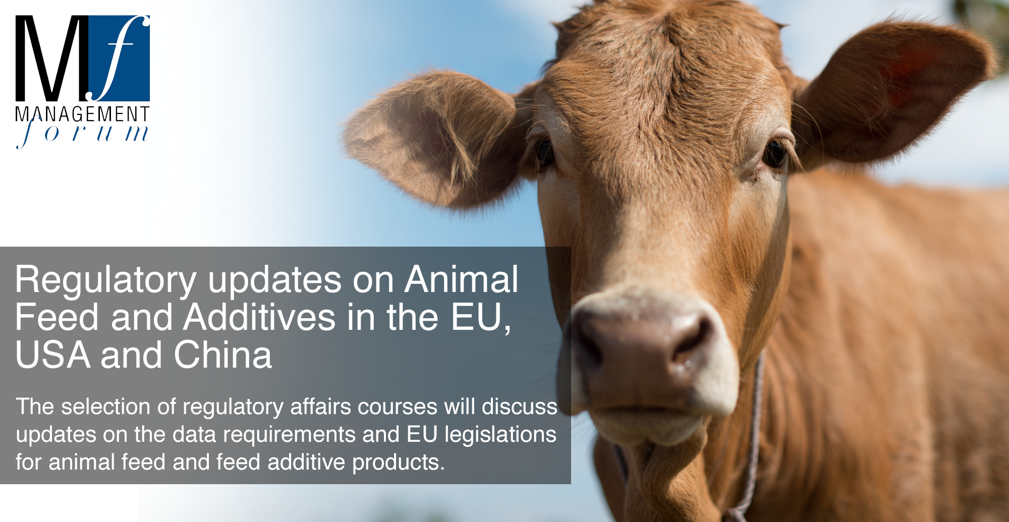 Two-day conference on Regulation Updates on Animal Feed and Feed Additives in the EU, USA and China. 5-6 December 2019