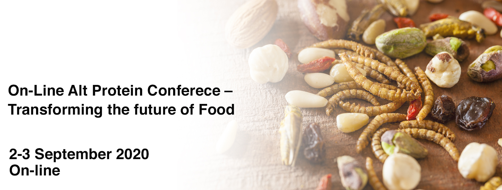 On-Line Alt Protein Conferece – Transforming the future of Food
